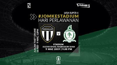 Live Streaming Terengganu vs Melaka United Liga Super 9.3.2019