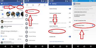 cara agar video facebook tidak play otomatis