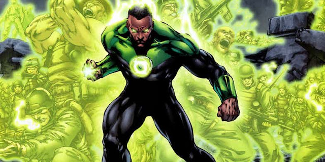 anggota green lantern terbaik