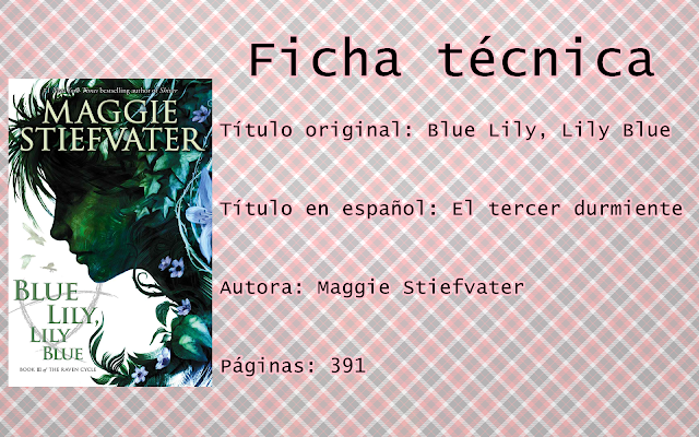 "Reseña ""Blue Lily, Lily Blue"""