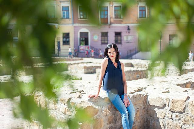 sesja kobieca Lublin, fotograf ślubny Lublin, sesja plenerowa, zdjęcia Lublin, Plac po Farze