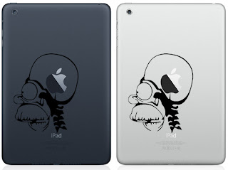 50 Cool Stickers Designs of Apple New iPad Mini