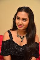 South Actress Amulya in short black dress at Kalamandir Foundation 7th anniversary Celebrations ~  Actress Galleries 049.JPG