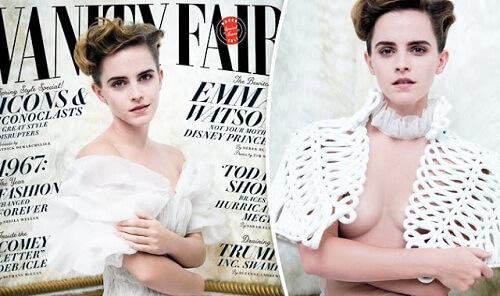 Emma Watson Vanity Fair Magazine Cover