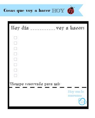planificador diario descargable gratuito azul