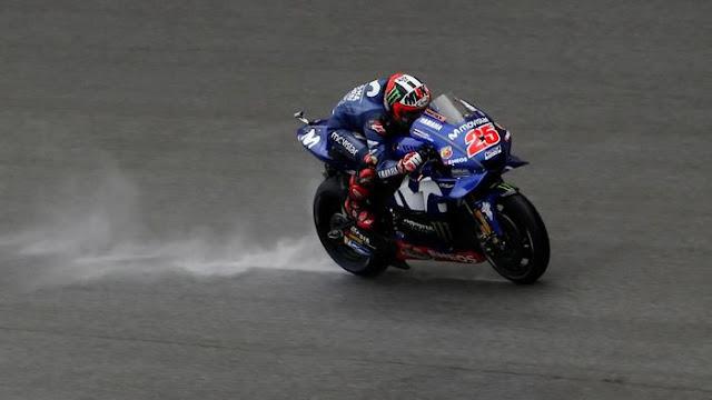 Vinales Memang Tak Bisa Saingi Marquez dan Rossi di Sepang