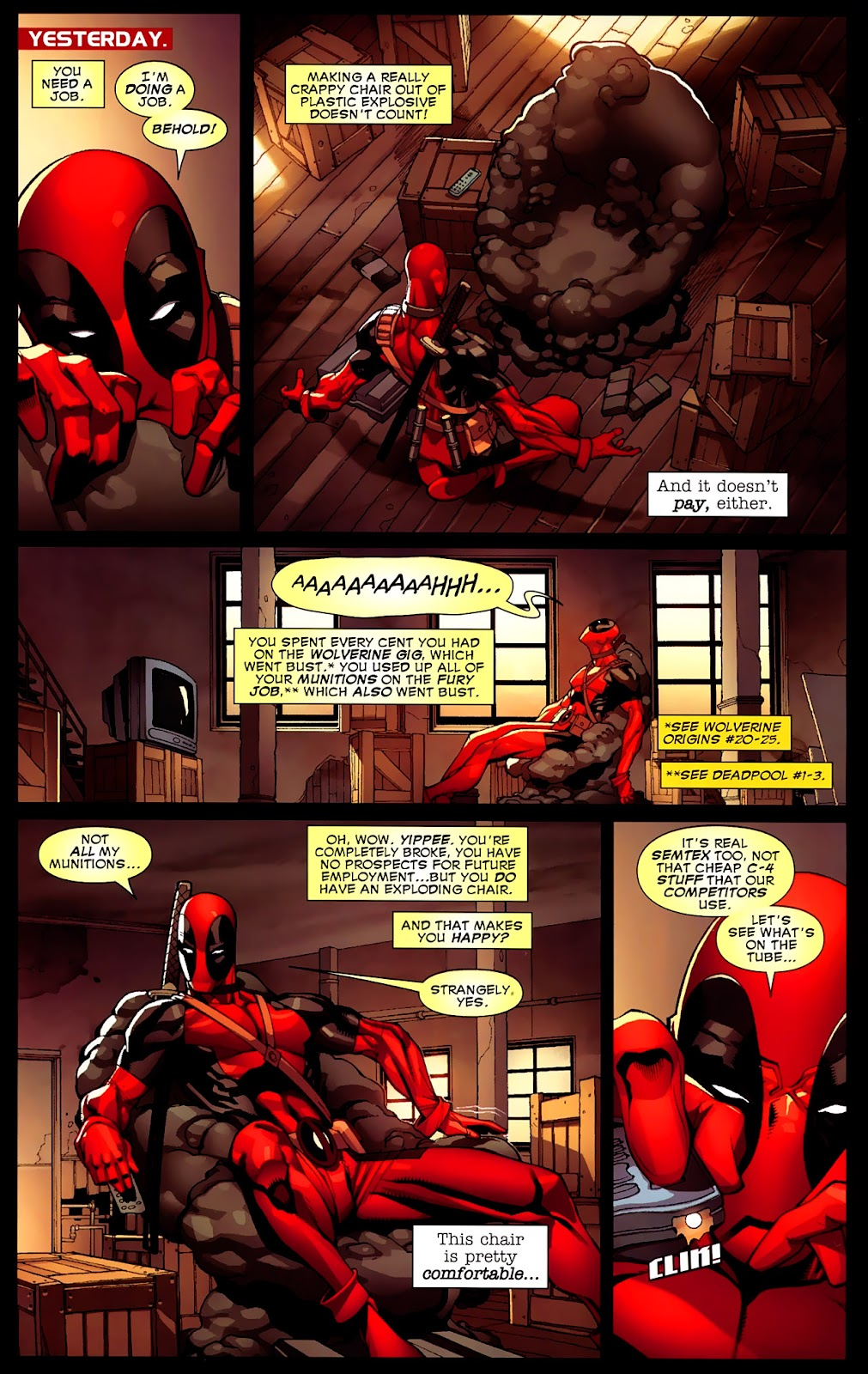 Read online Deadpool (2008) comic -  Issue #4 - 4