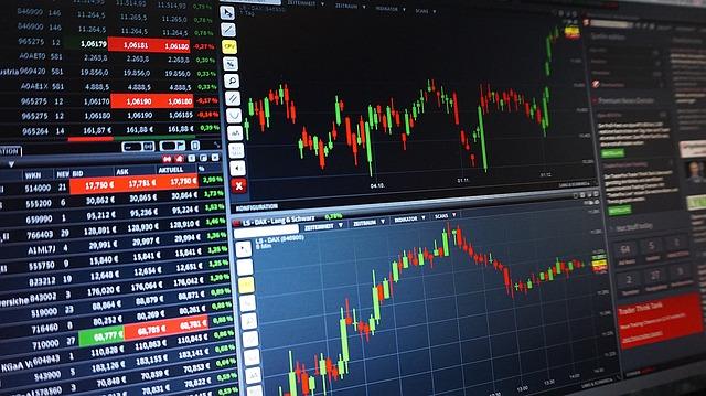 ilustrasi trading saham