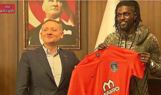 Emmanuel Adebayor signs 18 months deal with Turkish football club