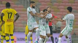 الأهلي يتغلب على نادي التعاون في الجولة السابعه من الدوري السعودي بثلاث اهداف لهدف.
