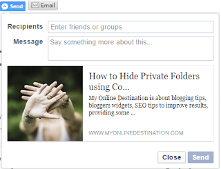 How To Share Your Post To All Facebook Friends And Groups With a Single Click