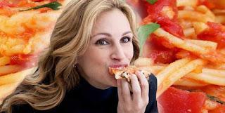 """Cocina en Pelis y Series (I): Pizza Margarita de """"Come, reza, ama""""."""