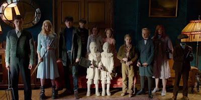 Los niños peculiares de Tim Burton
