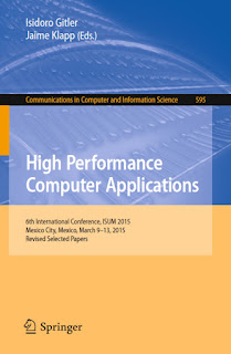 High Performance Computer Applications: 6th International Conference ISUM 2015