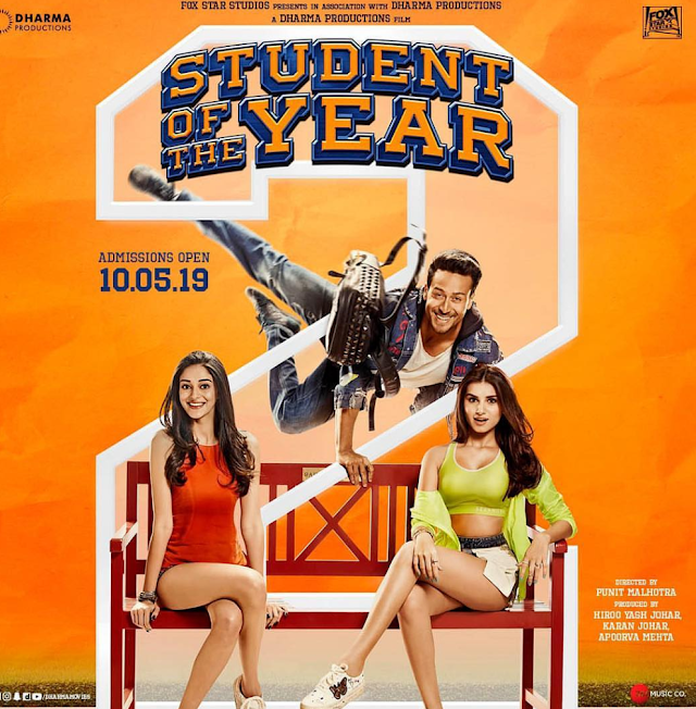 Student Of The Year 2 Full Movie Tamilrockers