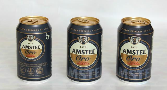 disfrutabox cerveza Amstel Oro
