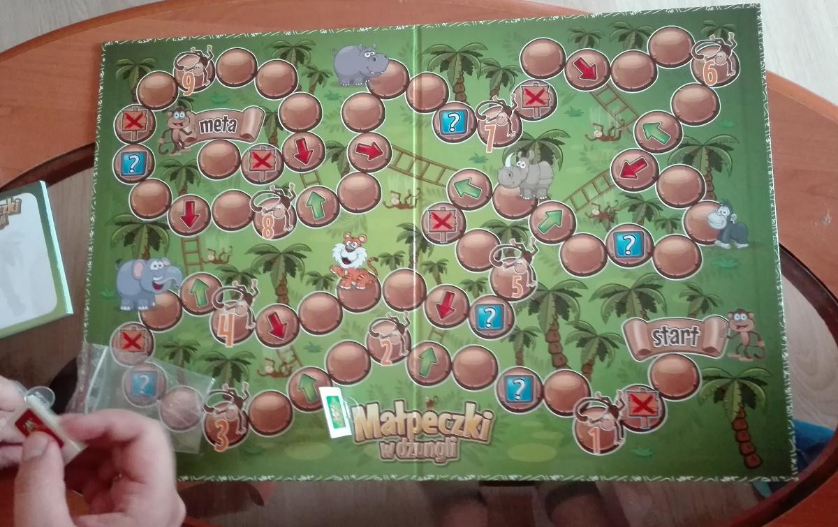 małpeczki w dżungli gra