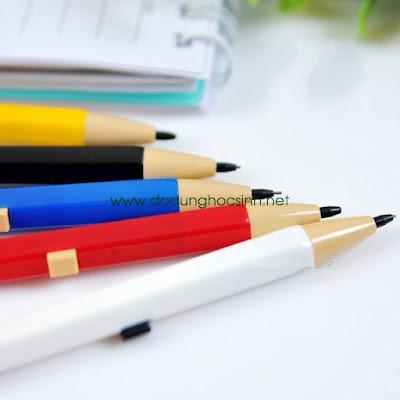 Bút chì bấm nhiều màu vỏ bút