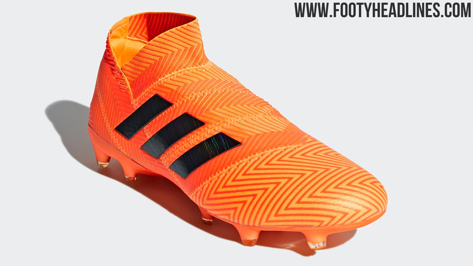 bc7a4421c698 Meanwhile, the sole plate hasn't undergone any changes at all from Adidas  Nemeziz 17 to 18.