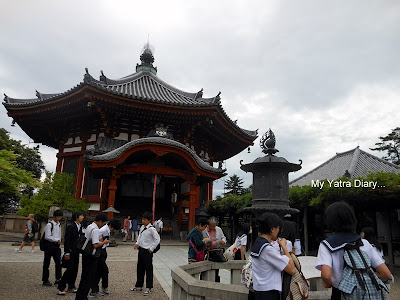 The Nanendo hall, Kofukuji Temple in Nara - Japan