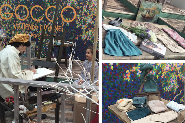 ESPACIO #GOCCO #PETITEFASHIONWEEK BY #CHARHADAS #PequeñaFashionista