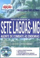 apostila Prefeitura Municipal de Sete Lagoas-MG - ACE 2016.