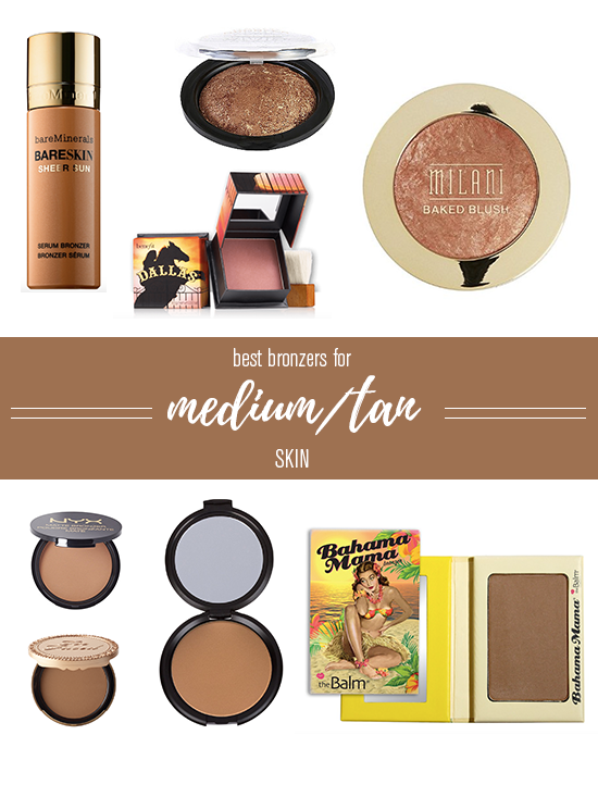 Best Bronzers for Medium/Tan Skin