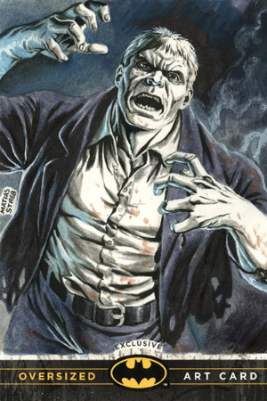 Matias Streb Oversized Art Solomon Grundy card