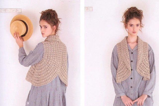 Patron  Crochet Bolero Circular