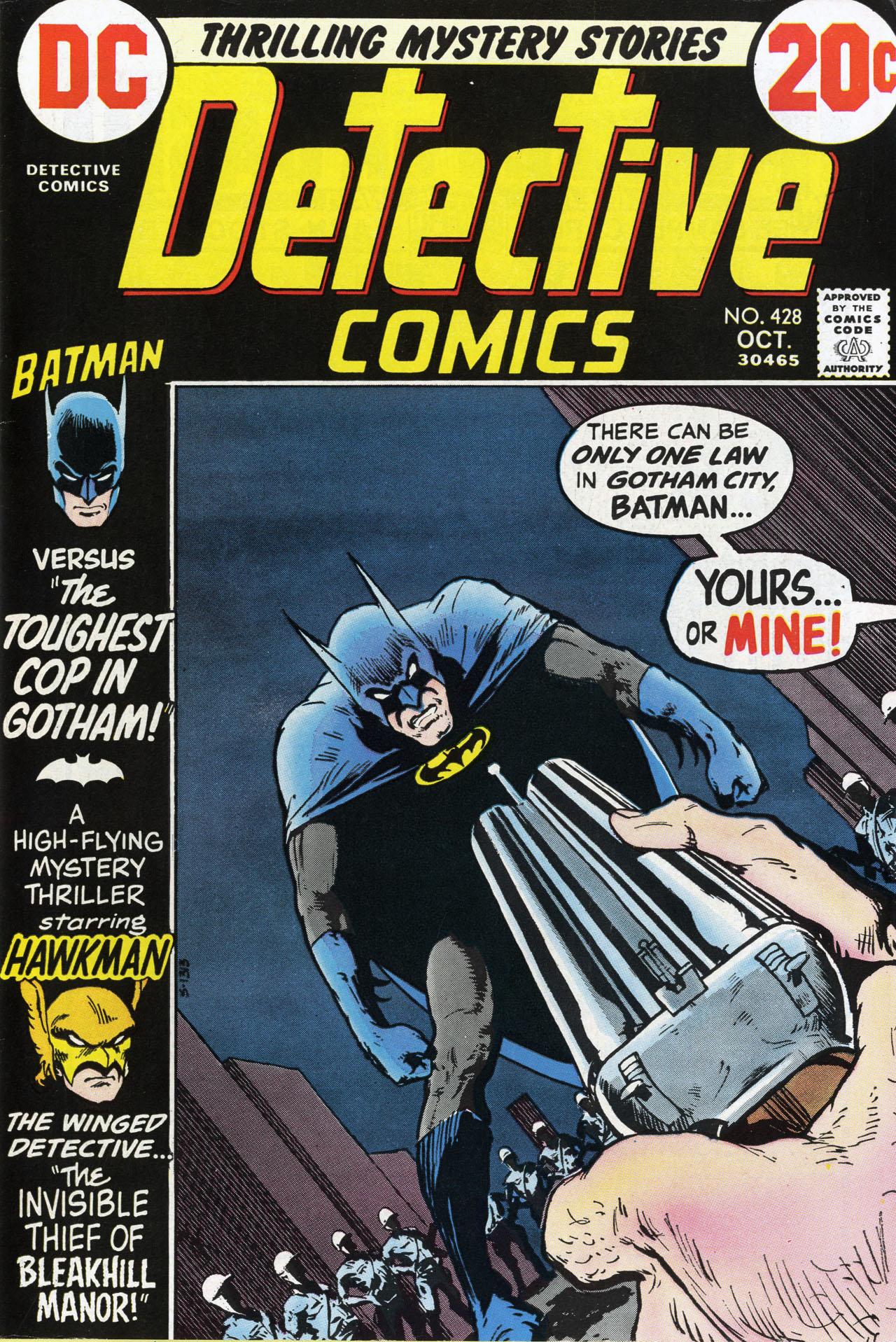 Detective Comics (1937) 428 Page 1