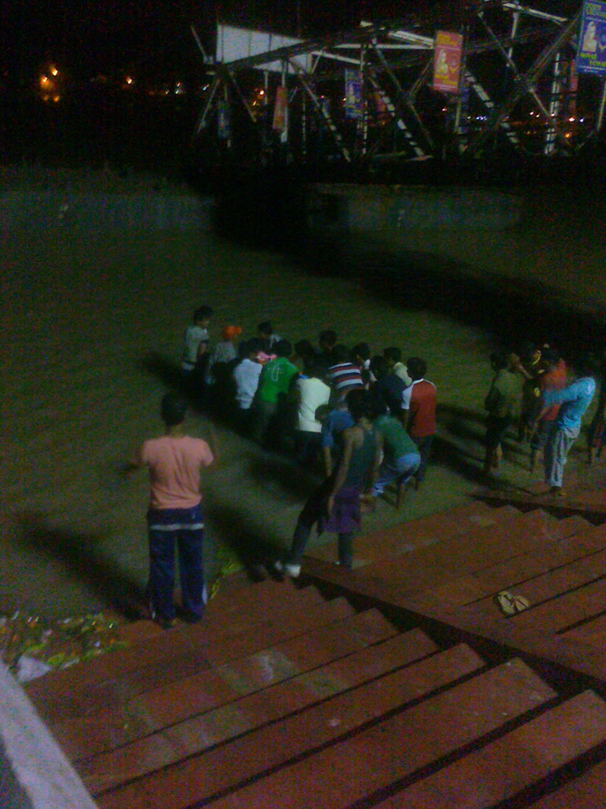 Ganesh Visarjan successfully done at Salkia Bandghat Ferry dock
