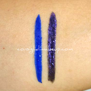 swatch colorful eyeliner waterproof sephora