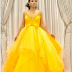 Toke Makinwa looks drop dead gorgeous in this yellow Gert-Johan Coetzee Gown(photo)