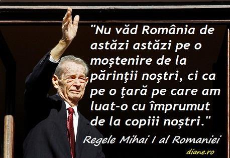 Citate regele Mihai