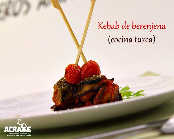 Islim kebab o kebab de berenjena Cocina Turca  El Saber Culinario
