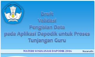 Materi Sosialisasi Dapodik 2016