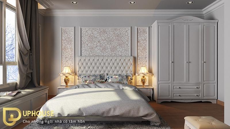 Phòng ngủ tân cổ điển đẹp 09