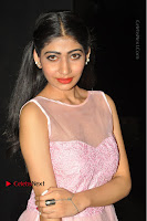 Actress Nidhisha Reddy Pos in Beautiful Pink Dress at Virus Telugu Movie Audio Launch .COM 0029.JPG