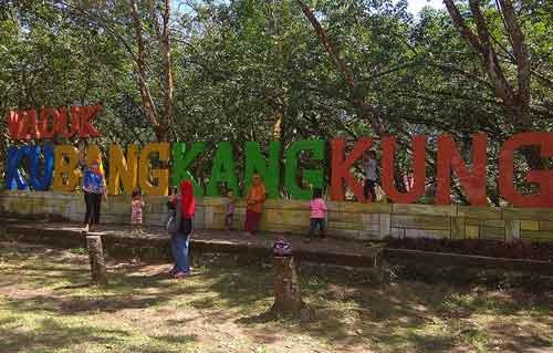 Objek Wisata Waduk Di Alas Kubangkangkung