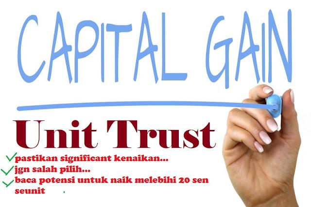 capital gain Unit Trust