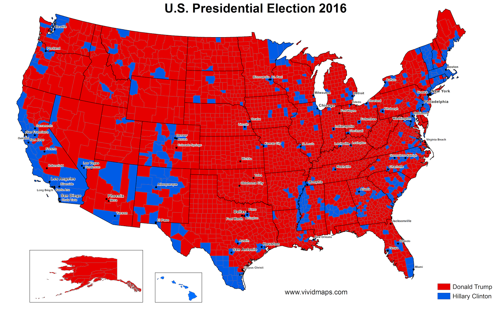 US presidential election 2016