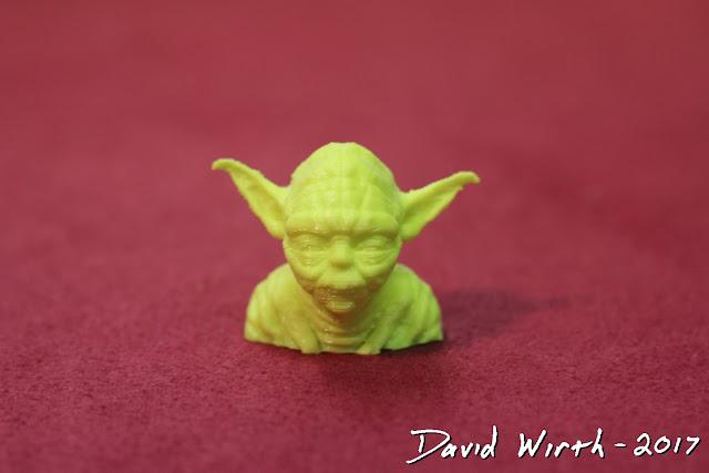 yoda, star wars, 3d print