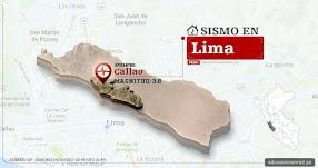 Temblor en Lima de 3.6 Grados (Hoy Domingo 24 Septiembre 2017) Sismo EPICENTRO Callao - IGP - www.igp.gob.pe