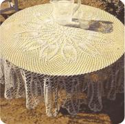 Mantel Los Tulipanes a Crochet