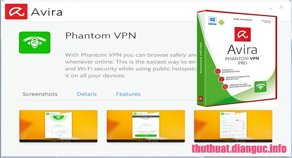 Download Avira Phantom VPN Pro 2.21.2.30481 Full Cr@ck