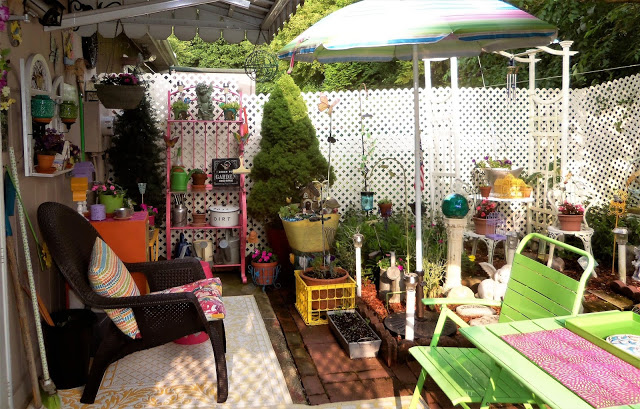 Colorful Summer Patio, Part 2, 2019