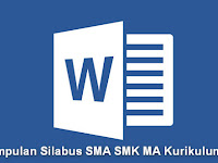 Kumpulan Silabus SMA SMK MA Kurikulum 2013