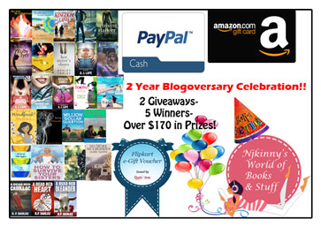 2 Year Blogoversary Celebration Giveaways!!~ 2 Giveaways, 5 Winners and Over $170 in Prizes!!!