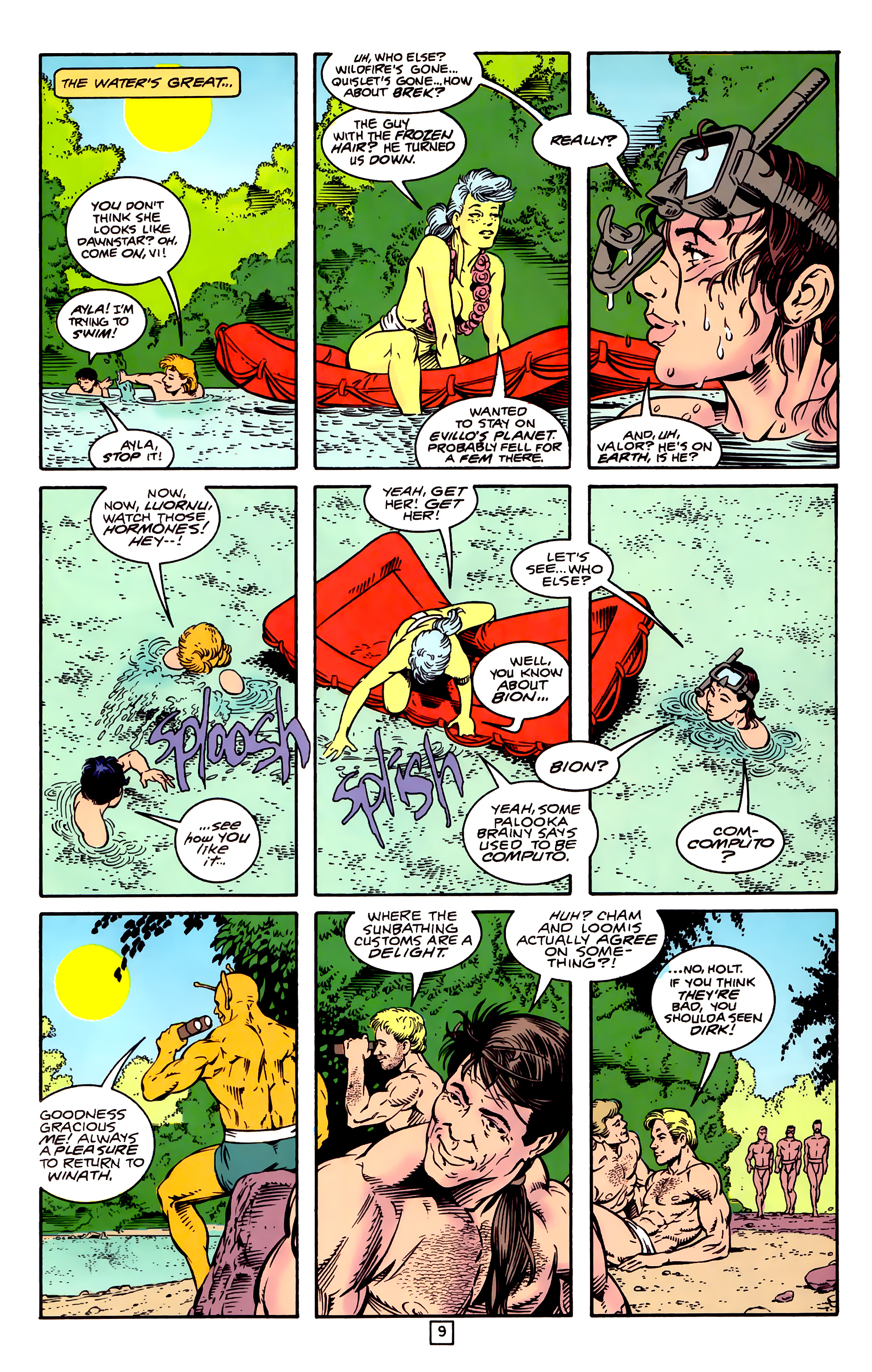 Legion of Super-Heroes (1989) _Annual_3 Page 36