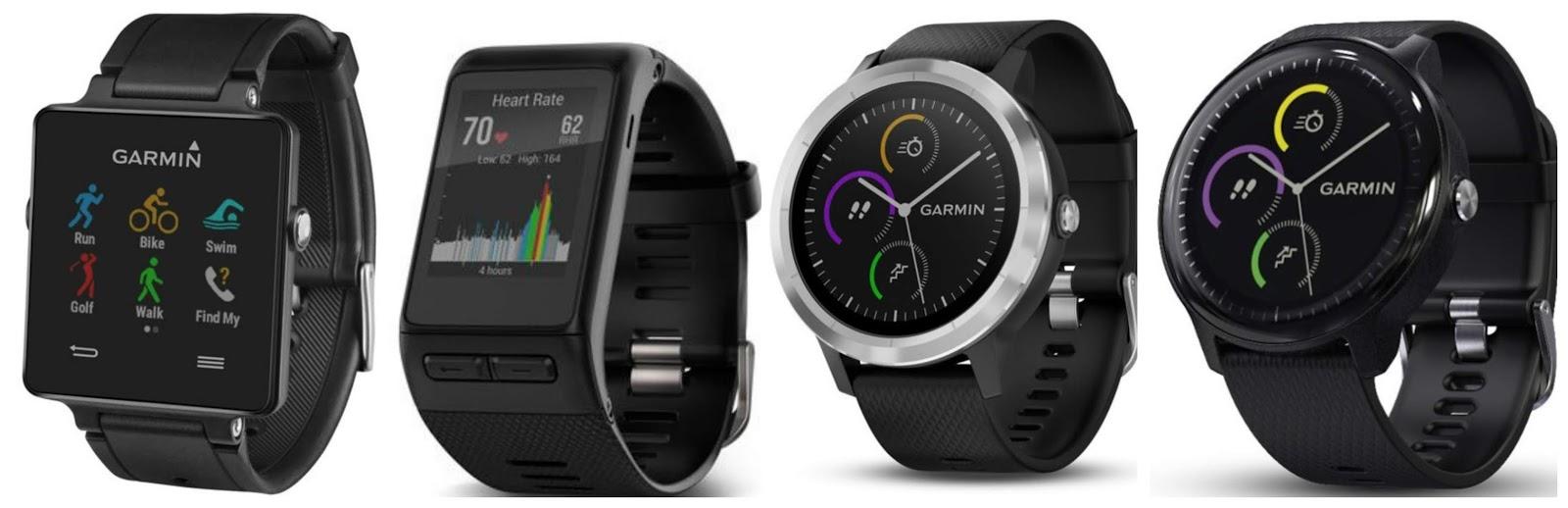 4 generace hodinek řady Vívoactive b92d788c4a